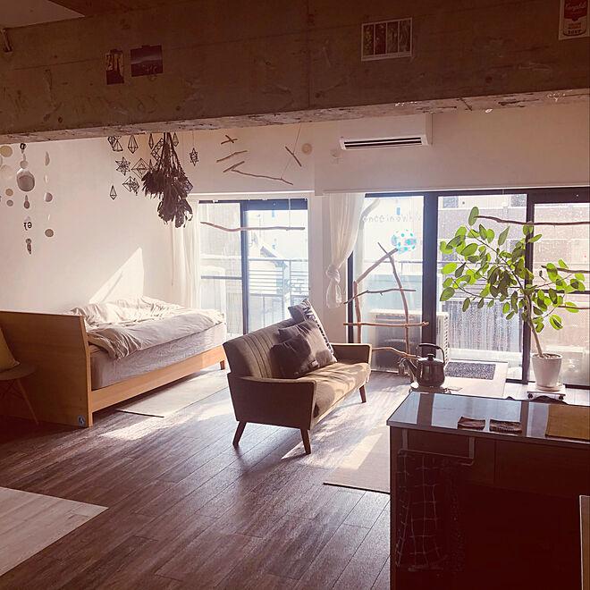「50m2。見られてもいいと思える、暮らしごとアートに魅せた空間」 by smashpumpkinさん