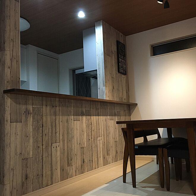 キッチン/雑貨/木目調のインテリア実例 - 2016-06-12 21:55:58