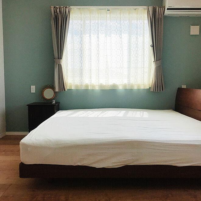 寝室/アクセントクロス/マイホーム/暮らし/お気に入り...などのインテリア実例 - 2020-05-22 14:16:54