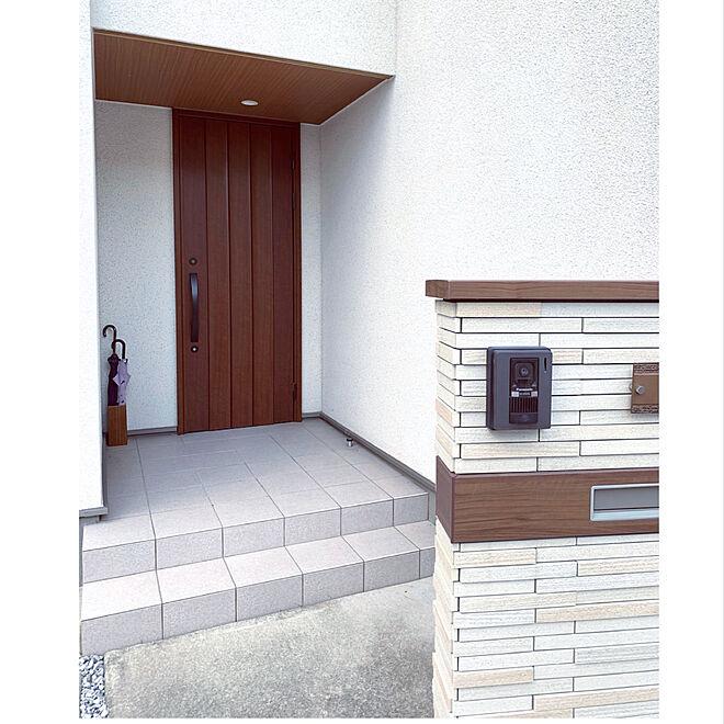 傘立て/ブラウンインテリア/玄関/入り口のインテリア実例 - 2021-07-11 21:26:08