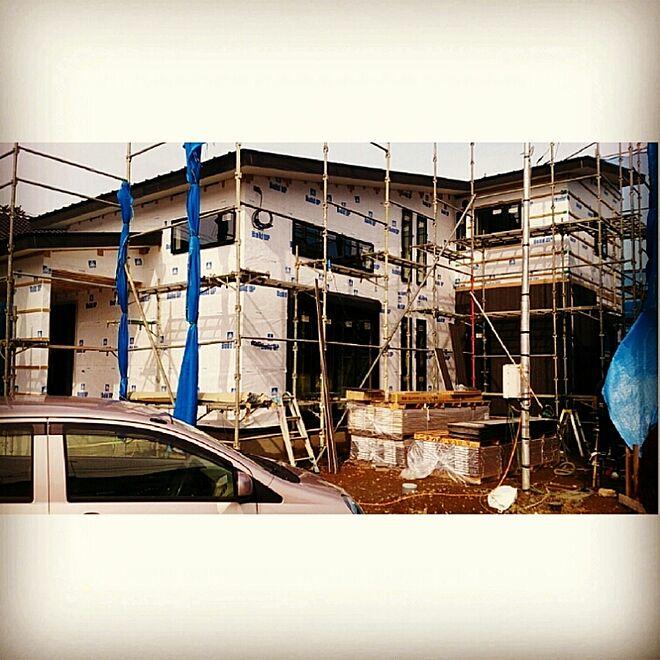 部屋全体/白黒/和モダン/片流れ屋根/大屋根のインテリア実例 - 2014-11-06 11:07:57