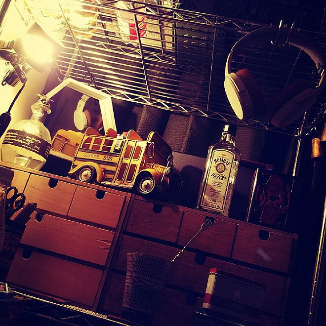 机/作業机/作業台/工具収納/メタルラック...などのインテリア実例 - 2017-11-03 08:34:25