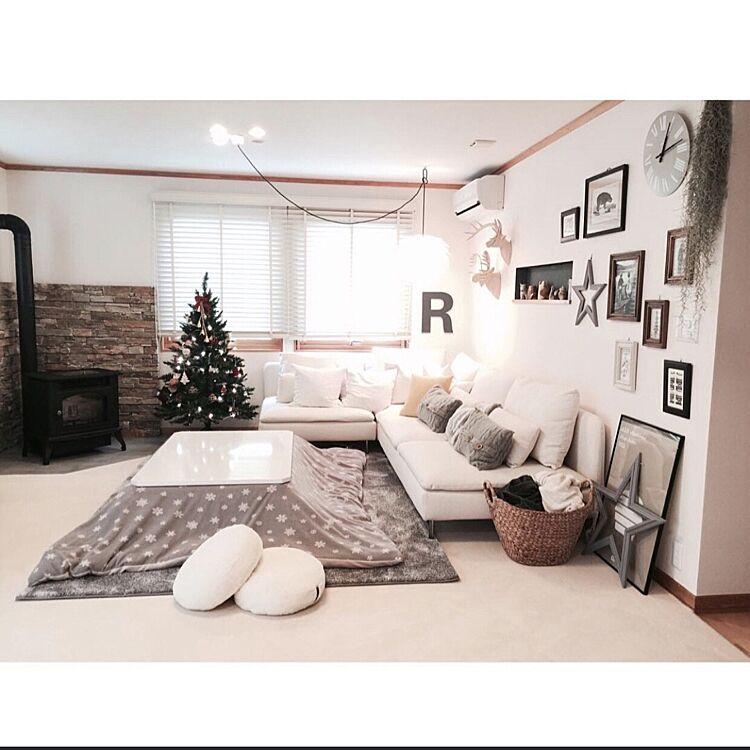 ニトリ家具のある部屋。人気ソファから使える収納グッズ実用例