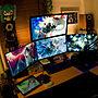 、ゲーム機机やオーディオやパソコンデスクやゲーム機などに関するyamatwoさんの実例写真