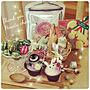 女性家族暮らし、クリスマスクッキーOverviewやNO GREEN NO LIFEや押し逃げごめんなさいやいいね♪いつもありがとうございます❤️などに関するbunyakoさんの実例写真