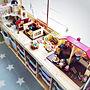 女性33歳の家族暮らし4LDK、和室をキッズスペースに棚やナチュラルやIKEAや子ども部屋などに関するMichiさんの実例写真