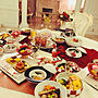 女性3LDK、お餅Kitchenやダイソーや食器やダイニングなどに関するeriiさんの実例写真