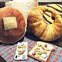 女性46歳の家族暮らし4LDK、2017.9.17My DeskやマグネットやパンやiPhoneケースなどに関するronmaruさんの実例写真