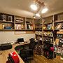 その他家族暮らし、ポエムガーデンハウスMy Shelfや照明や本棚や収納などに関するPoemGardenHouseさんの実例写真