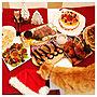 女性家族暮らし3LDK、プチディナーMy DeskやMerryX'masイヴやケーキやホワイトチーズシチューなどに関するRyokoさんの実例写真