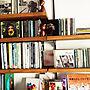 女性一人暮らし2LDK、音楽周りMy Shelfやジャンルレスや音楽周りや試行錯誤中などに関するrobi_tntmさんの実例写真