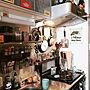 一人暮らし1R、端材Kitchenや見せる収納や調理器具や調味料棚などに関する333さんの実例写真