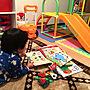 女性家族暮らし4LDK、日課Overviewや子供部屋や絵本やニトリなどに関するaさんの実例写真
