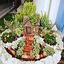 女性家族暮らし3LDK、4種類Entranceやガーデニングや植木鉢や寄せ植えなどに関するmisakiさんの実例写真