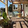 女性36歳の家族暮らし、ヒヤシンスOverviewや庭やポストや玄関まわりなどに関するmakiさんの実例写真