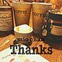 女性家族暮らし4LDK、コンクリ鉢棚やリメ缶や素敵便♡やコンクリ鉢などに関するhisachanさんの実例写真