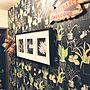 女性その他2LDK、ダイソーフック 2個付けOn Wallsや賃貸でも楽しく♪や❤︎ありがとうございます‼︎や壁紙貼りました♡などに関するSonokoさんの実例写真