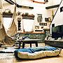 女性40歳の家族暮らし3LDK、壁紙屋本舗 RoomClipドラマ化Overviewや黒板や壁紙や壁紙屋本舗などに関するRans_andy.さんの実例写真