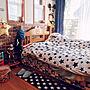 女性家族暮らし4LDK、ヒゲめがねBedroomや子供部屋や息子の部屋やヒゲめがねなどに関するportulacaさんの実例写真