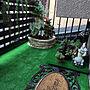 女性家族暮らし、植物のある風景Overviewや狭い家や昭和の家や山善などに関するsakuranboさんの実例写真