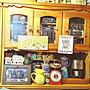 女性家族暮らし4LDK、DALTONスケールキッチンやカフェ風やアメリカン雑貨やコーヒーメーカーなどに関するnanaさんの実例写真