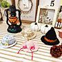 女性30歳の家族暮らし4LDK、麦わら帽子棚やハロウィンやかぎ針編みやオーダー品などに関するsatotoさんの実例写真