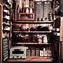 女性家族暮らし3LDK、モニター企画KitchenやIKEAやカウンターやDIYなどに関するyuka0527さんの実例写真
