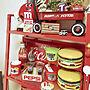 女性家族暮らし3LDK、コカ・コーラ看板My Deskやペプシや昭和レトロやハンバーガーなどに関する1114kmyrekさんの実例写真