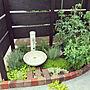 男性35歳の家族暮らし3LDK、リシマキアEntranceや風知蒼や植栽やセダムなどに関するojijiさんの実例写真