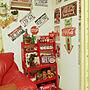 女性3LDK、看板リビングやダイソーやセリア (seria)やコカコーラなどに関するlemoned1126さんの実例写真