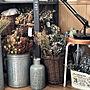 女性家族暮らし、Onlili 陶器アロマ超音波式 加湿器Loungeや外国のお花屋さん風や小さなお花屋さんや花材収納などに関するakkyさんの実例写真