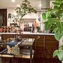 女性家族暮らし1LDK、ブロックランプOverviewや無印良品やIKEAや花瓶などに関するchapiさんの実例写真