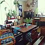 女性31歳の一人暮らし2DK、エルパソLoungeや観葉植物やダイソーや和室などに関するfeltzw5さんの実例写真