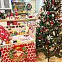 女性家族暮らし3LDK、サンタのブーツBedroomやクリスマスや北欧好きやベビーベッドなどに関するtaitaiさんの実例写真