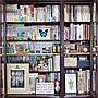 女性家族暮らし、書籍本や本棚や雑貨や書籍などに関する48=SHI-BAさんの実例写真