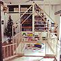 35歳の家族暮らし4LDK、オムツ台OverviewやクリスマスやIKEAやクリスマスディスプレイなどに関するkoharubiさんの実例写真