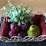 女性57歳の家族暮らし3LDK、洗面器(゚o゚;;My Deskや果物好き(^ ^)やお花大好き♡やいいね、フォロー本当に感謝です♡などに関するfuuさんの実例写真