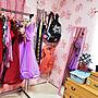 女性35歳の家族暮らし4K、服の部屋Overviewや服の部屋やもとは和室や桐箪笥などに関するYokoさんの実例写真