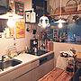 女性41歳の家族暮らし4K、ホーロー雑貨Kitchenやパン焼き網やXperia Touchモニター応募やIKEAなどに関するYukiさんの実例写真