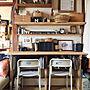 女性37歳の家族暮らし、インスタ▶︎orisuke0209My Deskや椅子やDIYやリメイクなどに関するOrieさんの実例写真