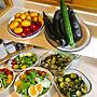 女性家族暮らし3LDK、今日の収穫Kitchenや今日の収穫やいいね!ありがとうございます♪やフォローすごく嬉しいです♡などに関するrikomiさんの実例写真