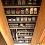男性37歳の家族暮らし1LDK、靴の収納My Shelfやスリッパやシューズボックスや靴の収納などに関するpomqujackさんの実例写真