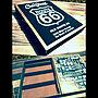 女性50歳の家族暮らし3LDK、黒塗装My Shelfやリメイクやコルクボードやステンシルなどに関するbety-mugiさんの実例写真