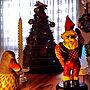 、クリスマスラグMy Deskやキャンドルやクリスマスリースやクリスマスツリーなどに関するmarrymisuzuさんの実例写真