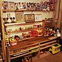 、賃貸 机やDIYや子供スペースやミニーなどに関するMeiji.milkさんの実例写真