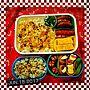 女性家族暮らし2LDK、ガッツリ弁Kitchenや男子弁当や幼稚園のお弁当や幼稚園弁当などに関するShochanさんの実例写真