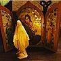 女性同棲4LDK、木彫On Wallsやイタリア製や木彫やマリア像などに関するNagakoさんの実例写真