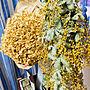 女性64歳の家族暮らし4LDK、ミモザのスワッグ♡Bedroomや紫陽花のドライフラワー+*。やミモザのスワッグ♡などに関するtakakoさんの実例写真