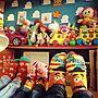 、娘ちゃんの世界靴下や娘ZONEや子供部屋やオタク部屋などに関するmatruko...さんの実例写真