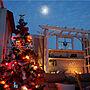 女性家族暮らし4LDK、クリスマスガーデンOverviewや幻想的な夜やイルミネーションやクリスマスなどに関する4sistersさんの実例写真
